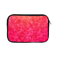 Abstract Red Octagon Polygonal Texture Apple Ipad Mini Zipper Cases by TastefulDesigns