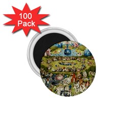 Hieronymus Bosch Garden Of Earthly Delights 1 75  Magnets (100 Pack)  by MasterpiecesOfArt