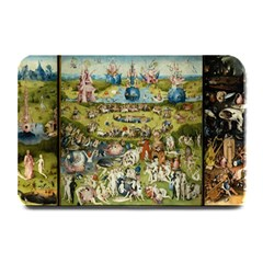 Hieronymus Bosch Garden Of Earthly Delights Plate Mats by MasterpiecesOfArt