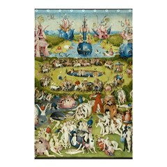 Hieronymus Bosch Garden Of Earthly Delights Shower Curtain 48  X 72  (small)  by MasterpiecesOfArt