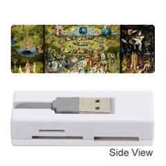 Hieronymus Bosch Garden Of Earthly Delights Memory Card Reader (stick)  by MasterpiecesOfArt