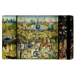 Hieronymus Bosch Garden Of Earthly Delights Apple Ipad 3/4 Flip Case by MasterpiecesOfArt