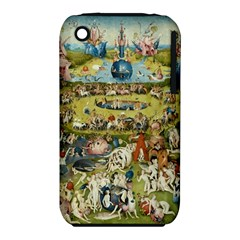 Hieronymus Bosch Garden Of Earthly Delights Iphone 3s/3gs by MasterpiecesOfArt