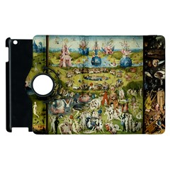Hieronymus Bosch Garden Of Earthly Delights Apple Ipad 3/4 Flip 360 Case by MasterpiecesOfArt