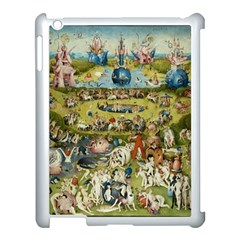 Hieronymus Bosch Garden Of Earthly Delights Apple Ipad 3/4 Case (white) by MasterpiecesOfArt
