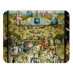 Hieronymus Bosch Garden Of Earthly Delights Double Sided Flano Blanket (large)  by MasterpiecesOfArt