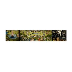Hieronymus Bosch Garden Of Earthly Delights Flano Scarf (mini) by MasterpiecesOfArt