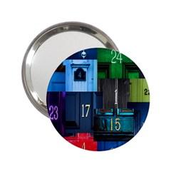 Door Number Pattern 2 25  Handbag Mirrors by Amaryn4rt
