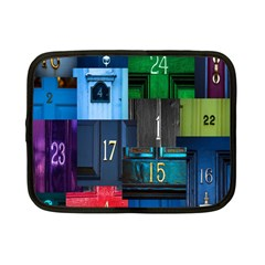 Door Number Pattern Netbook Case (small)  by Amaryn4rt