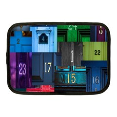Door Number Pattern Netbook Case (medium)  by Amaryn4rt