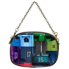 Door Number Pattern Chain Purses (one Side)  by Amaryn4rt
