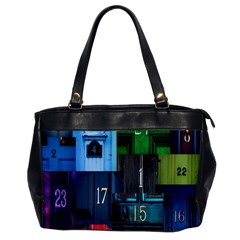 Door Number Pattern Office Handbags by Amaryn4rt