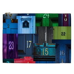 Door Number Pattern Cosmetic Bag (xxl)  by Amaryn4rt