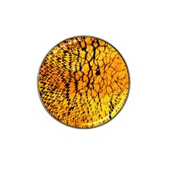 Yellow Chevron Zigzag Pattern Hat Clip Ball Marker (10 Pack) by Amaryn4rt