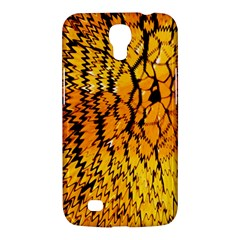 Yellow Chevron Zigzag Pattern Samsung Galaxy Mega 6 3  I9200 Hardshell Case by Amaryn4rt
