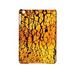 Yellow Chevron Zigzag Pattern Ipad Mini 2 Hardshell Cases by Amaryn4rt