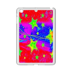 Red Background With A Stars Ipad Mini 2 Enamel Coated Cases by Amaryn4rt