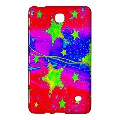 Red Background With A Stars Samsung Galaxy Tab 4 (7 ) Hardshell Case  by Amaryn4rt