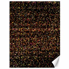 Colorful And Glowing Pixelated Pattern Canvas 36  X 48   by Amaryn4rt