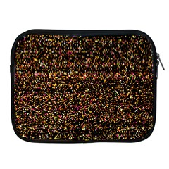 Colorful And Glowing Pixelated Pattern Apple Ipad 2/3/4 Zipper Cases by Amaryn4rt