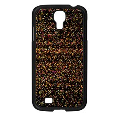 Colorful And Glowing Pixelated Pattern Samsung Galaxy S4 I9500/ I9505 Case (black) by Amaryn4rt