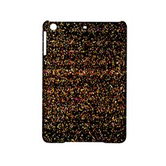 Colorful And Glowing Pixelated Pattern Ipad Mini 2 Hardshell Cases by Amaryn4rt