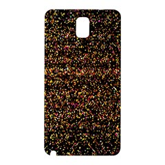 Colorful And Glowing Pixelated Pattern Samsung Galaxy Note 3 N9005 Hardshell Back Case by Amaryn4rt