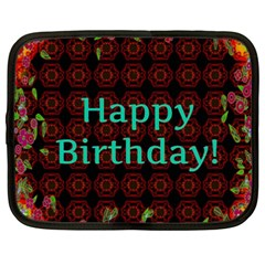 Happy Birthday To You! Netbook Case (xxl)  by Amaryn4rt