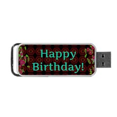 Happy Birthday To You! Portable Usb Flash (two Sides) by Amaryn4rt