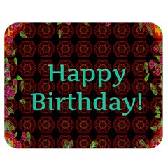 Happy Birthday To You! Double Sided Flano Blanket (medium)  by Amaryn4rt
