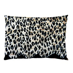 Tiger Background Fabric Animal Motifs Pillow Case by Amaryn4rt