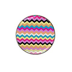 Chevrons Pattern Art Background Hat Clip Ball Marker (10 Pack) by Amaryn4rt