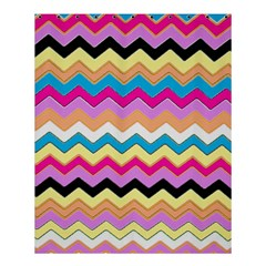 Chevrons Pattern Art Background Shower Curtain 60  X 72  (medium)  by Amaryn4rt