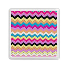 Chevrons Pattern Art Background Memory Card Reader (square)  by Amaryn4rt