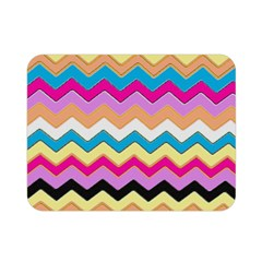 Chevrons Pattern Art Background Double Sided Flano Blanket (mini)
