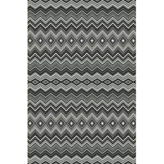 Greyscale Zig Zag 5 5  X 8 5  Notebooks