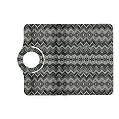 Greyscale Zig Zag Kindle Fire Hd (2013) Flip 360 Case by Amaryn4rt