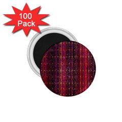 Colorful And Glowing Pixelated Pixel Pattern 1 75  Magnets (100 Pack)  by Amaryn4rt