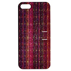 Colorful And Glowing Pixelated Pixel Pattern Apple Iphone 5 Hardshell Case With Stand by Amaryn4rt