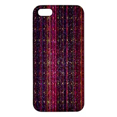 Colorful And Glowing Pixelated Pixel Pattern Iphone 5s/ Se Premium Hardshell Case by Amaryn4rt