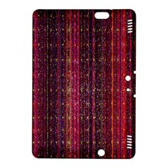 Colorful And Glowing Pixelated Pixel Pattern Kindle Fire Hdx 8 9  Hardshell Case by Amaryn4rt