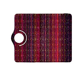 Colorful And Glowing Pixelated Pixel Pattern Kindle Fire Hdx 8 9  Flip 360 Case by Amaryn4rt