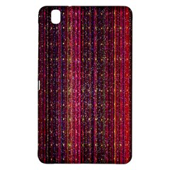 Colorful And Glowing Pixelated Pixel Pattern Samsung Galaxy Tab Pro 8 4 Hardshell Case by Amaryn4rt