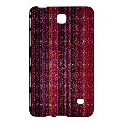 Colorful And Glowing Pixelated Pixel Pattern Samsung Galaxy Tab 4 (7 ) Hardshell Case  by Amaryn4rt