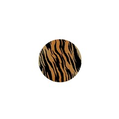 Tiger Animal Print A Completely Seamless Tile Able Background Design Pattern 1  Mini Magnets by Amaryn4rt