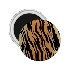 Tiger Animal Print A Completely Seamless Tile Able Background Design Pattern 2 25  Magnets by Amaryn4rt