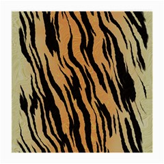 Tiger Animal Print A Completely Seamless Tile Able Background Design Pattern Medium Glasses Cloth by Amaryn4rt