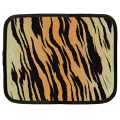 Tiger Animal Print A Completely Seamless Tile Able Background Design Pattern Netbook Case (xxl)
