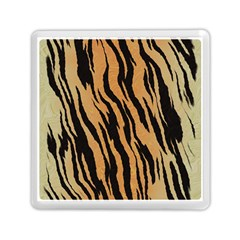 Tiger Animal Print A Completely Seamless Tile Able Background Design Pattern Memory Card Reader (square)  by Amaryn4rt