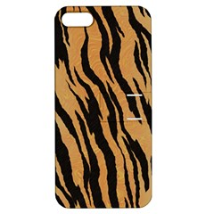 Tiger Animal Print A Completely Seamless Tile Able Background Design Pattern Apple Iphone 5 Hardshell Case With Stand by Amaryn4rt